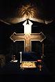 "Schitul rupestru ""Sf. Apostoli"" - Jgheaburi, interior 3.jpg"