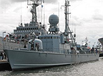 Gepard-class fast attack craft - Image: Schnellboot P6129 S79 Wiesel