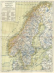 Skandinavien Karte Pdf.Skandinavische Halbinsel Wikipedia