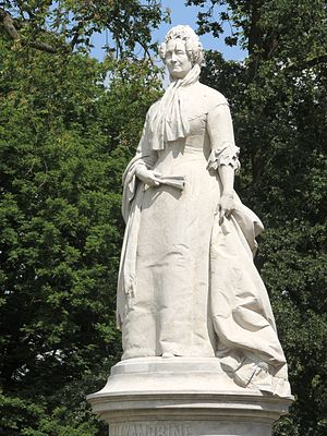 Princess Alexandrine of Prussia (1803–1892) - Monument in Schwerin, by Hugo Berwald
