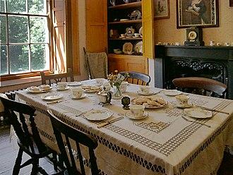 Scolton Manor - Dining room