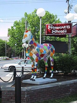 Horses Saratoga Style - Image: Scoops Horse