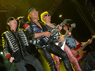 Scorpions discography Cataloging of published recordings by the German rock band Scorpions
