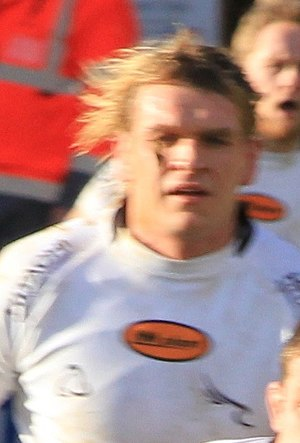 Scott MacLeod (rugby union) - Image: Scott Mac Leod rugby 2014 (cropped)