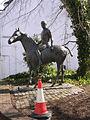 Sculpture at the end of Trafalgar Street, Winchester - geograph.org.uk - 135059.jpg