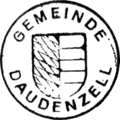 Seal of Daudenzell 1958.png
