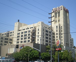 Sears, Roebuck & Company Mail Order Building (Los Angeles, California) - Side view