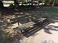 Seat in Mowsbury Park (geograph 4608219).jpg