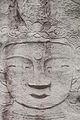 Seated Bodhisattva Carved on the Rock at Hakdoam temple in Seoul, Korea 09.jpg
