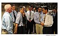 Secretary Chu gets briefed on NNSA's weapons dismantlement programs during visit to Pantex Plant. (Aug. 11, 2010) (4927864680).jpg