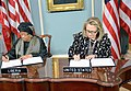 Secretary Clinton Holds a Signing Ceremony With Liberian President Sirleaf (8386939844).jpg