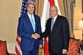 Secretary Kerry Greets Lebanese Prime Minister Salam Before Their Meeting (15175038729).jpg