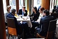 Secretary Kerry Meets With Staff at a Berlin Restaurant (12236579285).jpg