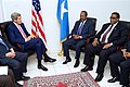 Secretary Kerry Sits with President Hassan Sheikh Mohamud and Prime Minister Omar Abdirashid Ali Sharmarke in Somalia (17193234770).jpg