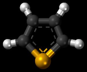 Selenophene - Image: Selenophene 3D balls