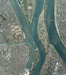 Senbon-Matsubara Kaizu, Gifu Aerial photograph.2009.jpg