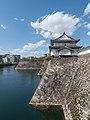 Sengan-yagura Turret and western outer moat, Osaka Castle 20190415 1.jpg