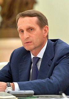 Sergey Naryshkin Russian politician