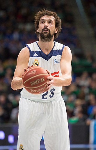 Sergio Llull - Llull in a game with Real Madrid.