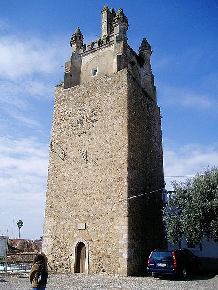 Castle of Serpa: tower
