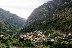 Secluded in the mountains of the interior, the main village of Serra de Água