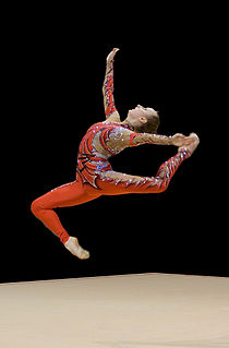 Vera Sessina Russian rhythmic gymnast