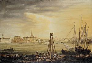 1769 in Sweden - Sevenbom, Riddarholmen