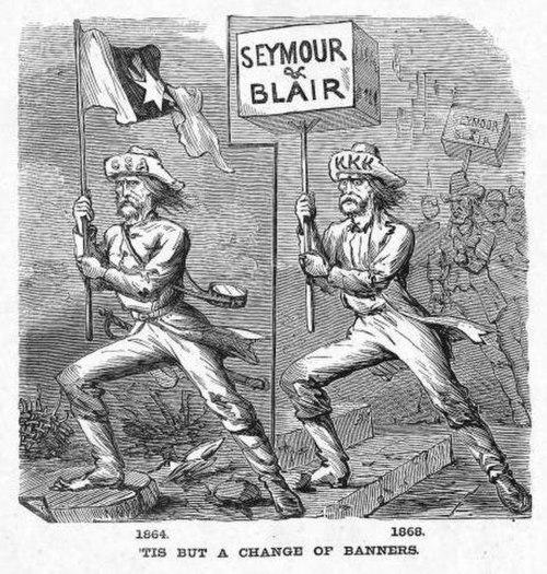 Seymour US Reconstruction antidem poster