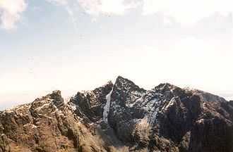 Sgùrr Alasdair - Image: Sgurr alasdair 2