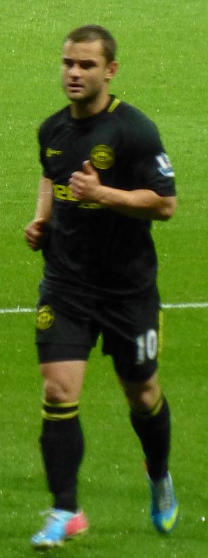 Shaun Maloney - Maloney playing for Wigan in May 2013, in the match which saw them relegated from the Premier League