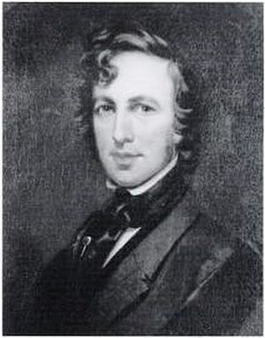 James Hamilton Shegogue - Self-Portrait, c. 1844. In the collection of the National Academy of Design