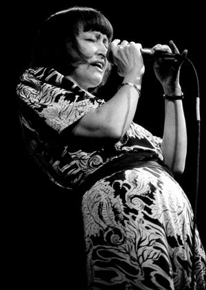 Sheila Jordan - Sheila Jordan in 1985