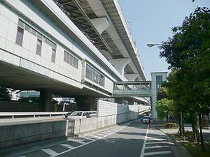 Shibaura-futō Station - Image: Shibaurafuto Sta