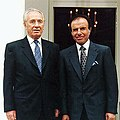 Shimon Peres and Carlos Menem.jpg