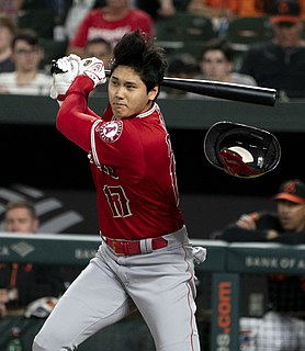 Shohei Ohtani Japanese baseball player