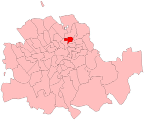 Haggerston by-election, 1908 - Haggerston in 1908