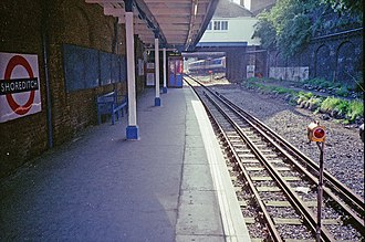 East London Line - The link to Liverpool Street, 1991