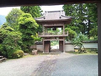 Shonenji Temple, Takachiho - Image: Shoro mon from north (2)