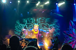 Shpongle im Moskauer Yotaspace Club, 2015