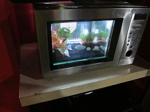 Siam Ocean World Microwave oven