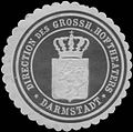 Siegelmarke Direction des Grossh. Hoftheaters Darmstadt W0338873.jpg