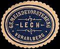 Siegelmarke Gemeindevorstehung Lech - Vorarlberg W0261444.jpg