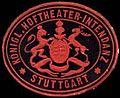 Siegelmarke Königl. Hoftheater-Intendanz - Stuttgart W0297073.jpg