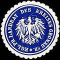 Siegelmarke Königlich Preussischer Landrat des Kreises Gronau i.-H. W0245929.jpg