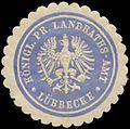 Siegelmarke K.Pr. Landraths-Amt Lübbecke W0387608.jpg