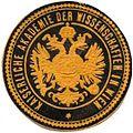 Siegelmarke Kaiserliche Akademie der Wissenschaften in Wien W0301227.jpg