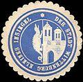Siegelmarke Kleines Insiegel der Stadt Wittenburg (Drache) W0217449.jpg