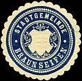 Siegelmarke Stadtgemeinde Braunseifen W0317689.jpg