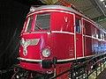 Siemens-built locomotive. Deutsche Reichsbahn (German Reich Railway). Swastika Reichsadler. Verkehrsmuseum Nürnberg (Nuremberg Transport Museum) 2011-10-04 Jim Woodward 511 1153.jpg