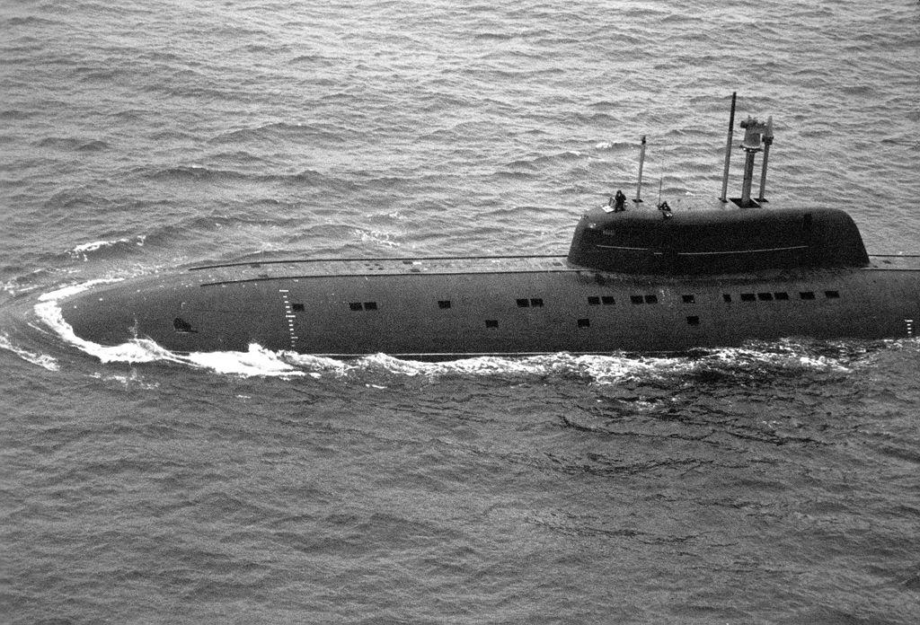 Submarinos SSN de la URSS y Rusia